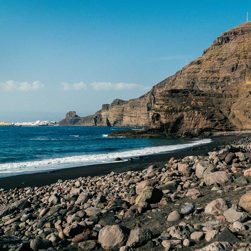 playas gran canaria cerca de redondo de guayedra